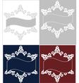 lace christmas snowflake vector image