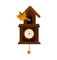 cuckoo watch time isolated icon vector image