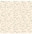 Seamless handwritting pattern vector image