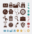 icons for internet vector image vector image