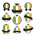 World Flags Series Flag of Ireland vector image