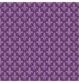 Purple fleur de lis seamless pattern vector image