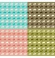 Seamless reindeer pattern vector image