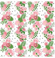 beautiful seamless pattern in small abstract vector image