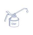 Oiler icon vector image