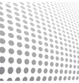 Halftone dots abstract background vector image