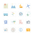 Icon Travel vector image