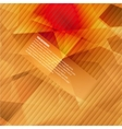 3d banners and squares Design vector image