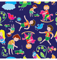 playtime pattern vector image