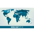 High Detail World Map vector image