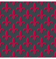 Red fleur de lis seamless background vector image