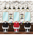 barber and salon vector image