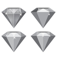 Simple Diamond vector image vector image