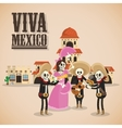 Mexican culture design vector image