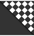 black and white tiles vector image vector image