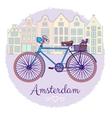Classic Bike vector image