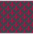 Red fleur de lis seamless background vector image