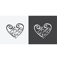meaning of heart vector image vector image