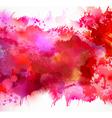 red blots vector image