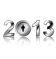 security concept 2013 new year vector image