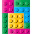 Construction blocks vector image