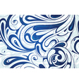Seamless water pattern vector image vector image