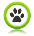 Paw of an animal icon vector image vector image