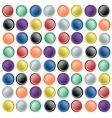 web buttons on paper vector image