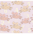 piggy pattern vector image