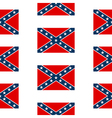 Confederate States of America seamless pattern vector image