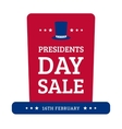 Presidents Day Sale vector image