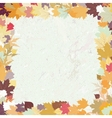 Grunge autumn background EPS 8 vector image