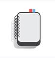 Notebook Flat vector image