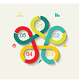 Time Line Design Can be used for workflow layout vector image