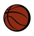 A basketball vector image