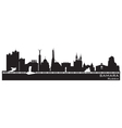 Samara Russia city skyline Detailed silhouette vector image vector image