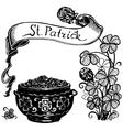 St Patrick vector image