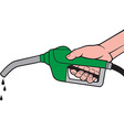Fuel pump icon vector image vector image