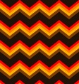 Chevron Brown Orange Seamless Background Pattern vector image