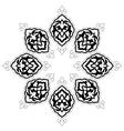 artistic ottoman pattern series fourteen vector image