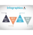 MODERN ORIGAMI BUSINESS SET STYLE OPTIONS BANNER vector image