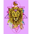 with lion vector image