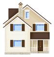 front door house vector image vector image