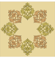 artistic ottoman pattern series nineteen vector image
