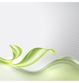Abstract wave spring background vector image