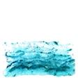 Abstract watercolor sea vector image