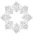 artistic ottoman pattern series seventeen vector image