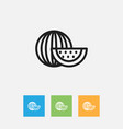of cooking symbol on vector image