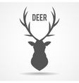 Deer head - vector image