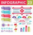 Infographics Elements 23 vector image